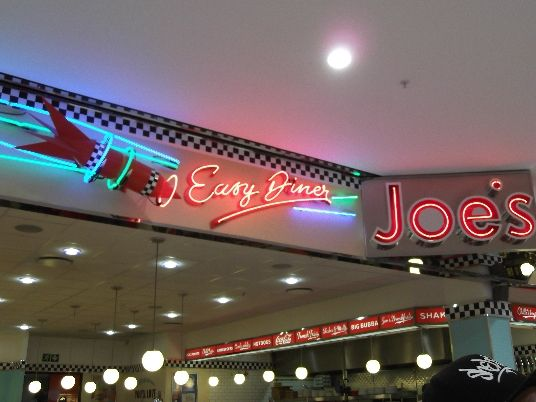 Joe's Easy Diner, Blue Route, Cape Town
