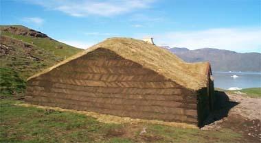Erik and Thjodhildur's Farmhouse.