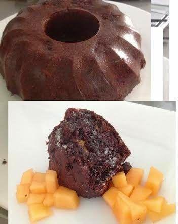 Olcsó diétás kakaós kuglóf (zabból) ~ Éhezésmentes Karcsúság Szafival