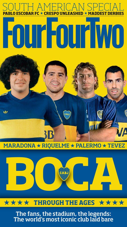 BOCAnera JUNIORs; dIEGO, rOMAN, mARTIN,  cARLOS