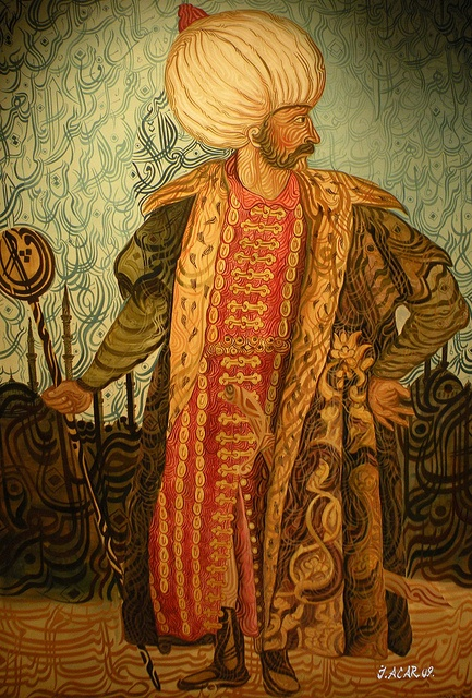 A creep in nice textiles! Suleiman the magnificent - Google Search