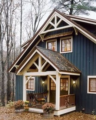 "2,049 Likes, 47 Comments - Upcountry Living | Joy Jenkins (@upcountryliving) on Instagram: ""Y'all know I love beautiful exteriors and this one stole my heart this week!  Navy board and…"""