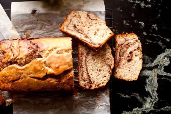 Nutella Swirled Banana Bread | Secret pantry | Pinterest