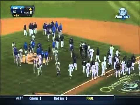 Dodgers vs Padres...I love a good baseball brawl