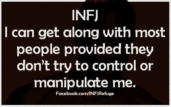 When I sense manipulation, I immediately do not trust that person.