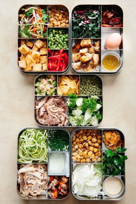 Sunday Night Salads: 5 Recipes to Make Ahead and Eat All Week — Meal Prep Magic Tricks | The Kitchn