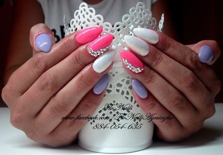 22 Super Inspiracje na Dziewczęcy Manicure, który Was zachwyci!