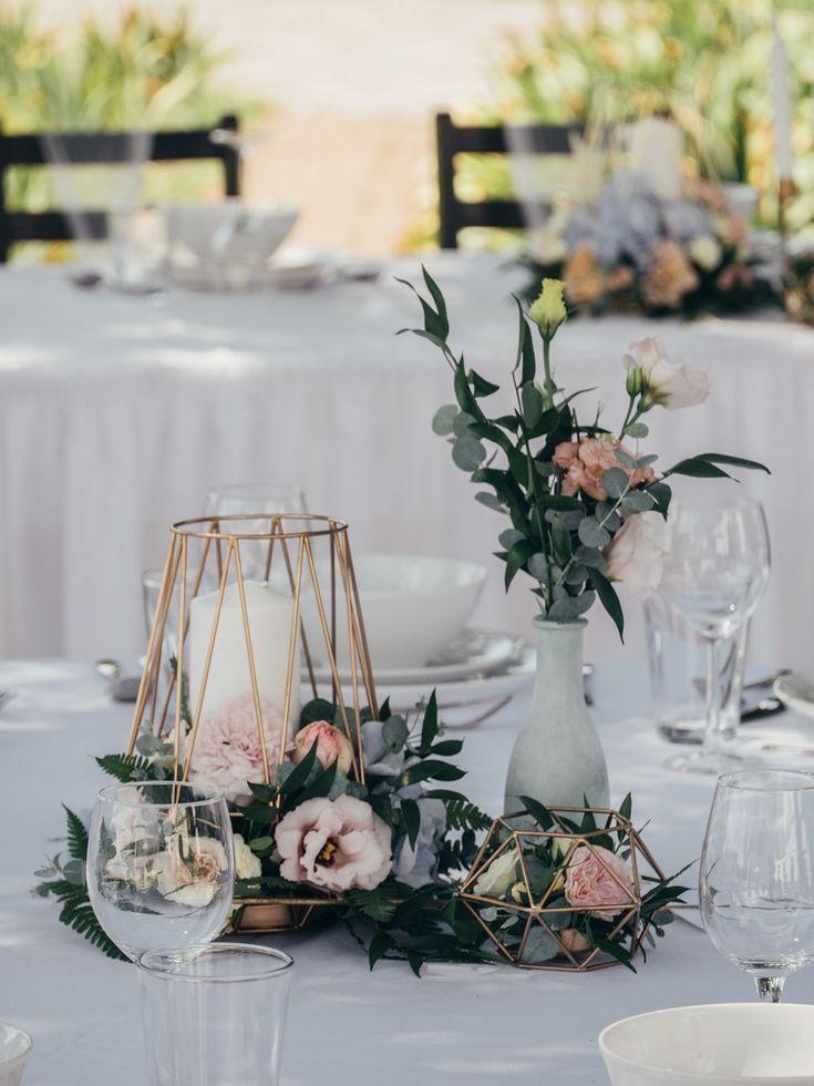 Décoration de table de mariage: 40 belles idées de tables rondes   – HOCHZEIT – DEKO