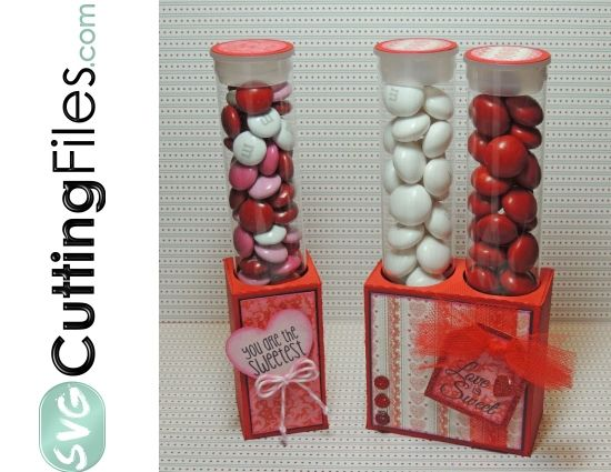 Candy Tube Holder Pack - single and double holes!!