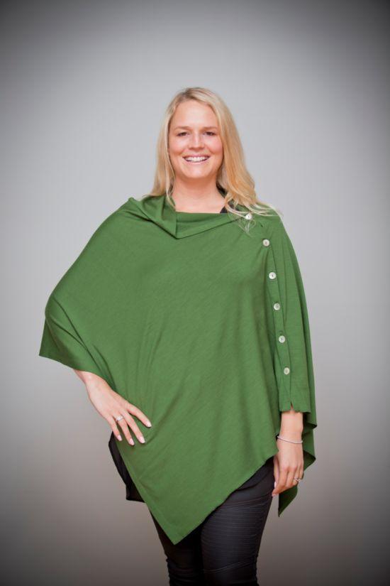 Merino Wool Cape | Women's Merino Clothing | New Zealand | NZ