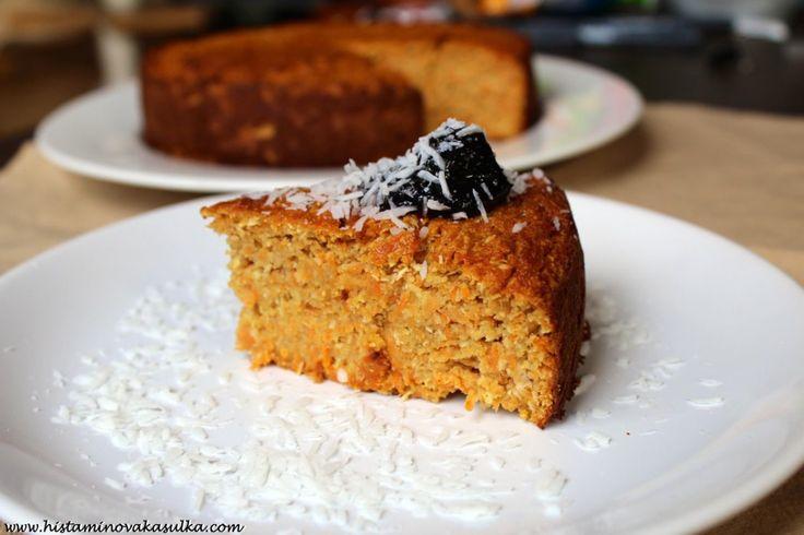 Mrkvovo-kokosový koláč