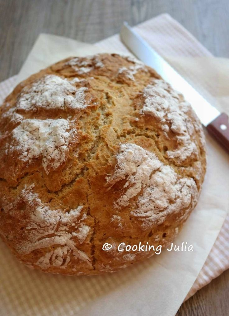 Cette année, pour la saint Patrick, j'ai fait du soda bread irlandais. La recette provient du blog Les filles, à table ! Elle est délicieus...