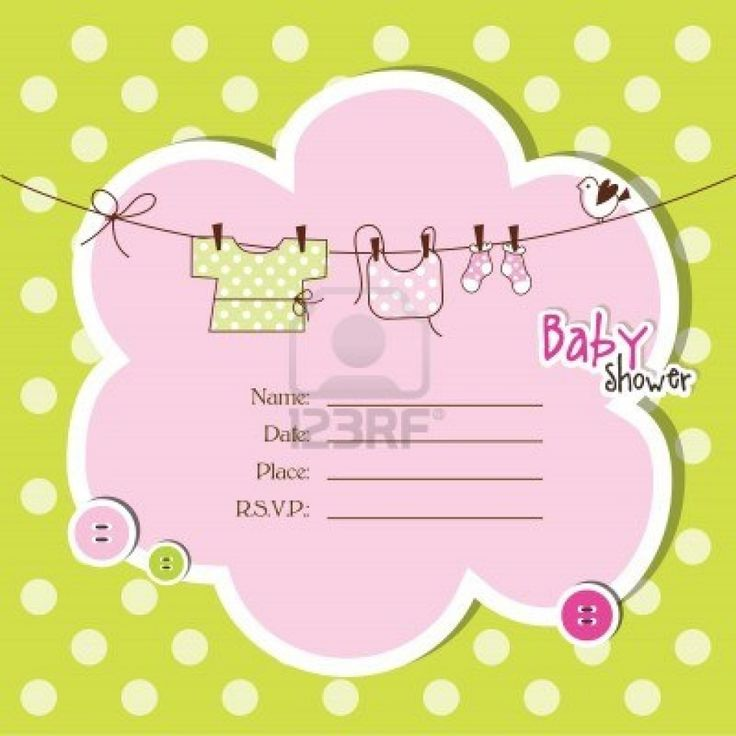 10 best free baby shower invitations templates images on Pinterest - baby shower invitations templates free