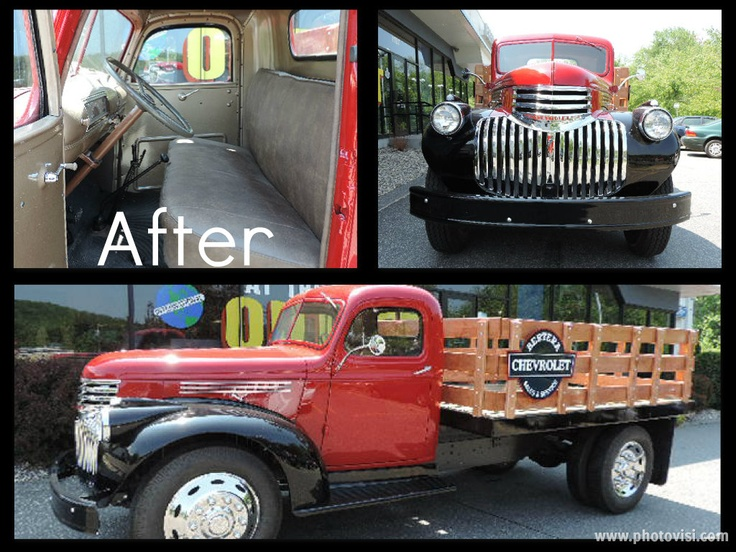 1946 Chevy Flat Bed restoration project