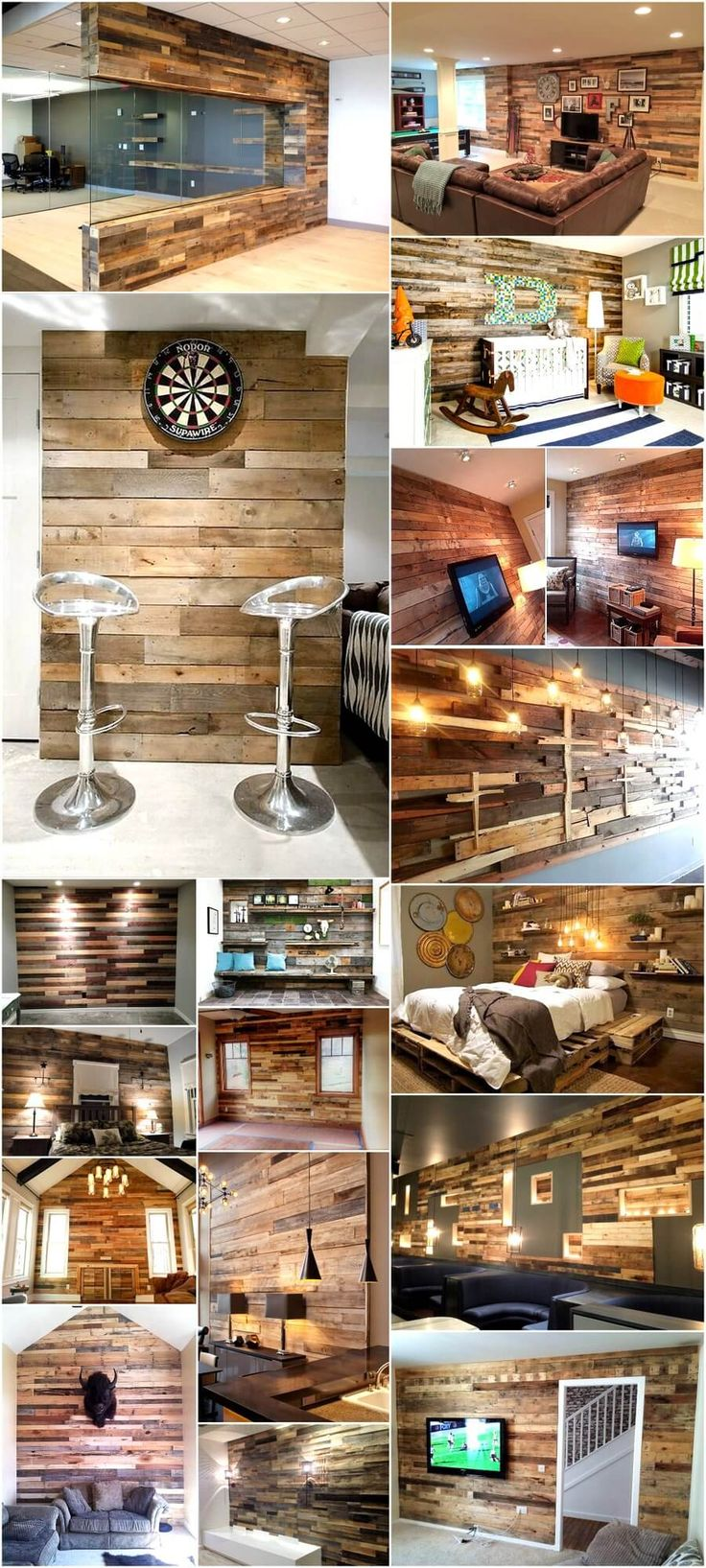 Until now we have gone through various DIY projects using pallet wood like sofas, coffee tables, center tables, bedroom furniture, media cabinets, wall shelves, patio furniture and many more. However, today we will be presenting to you something different that you can do with pallet wood in your home. Wood is always symbol of warmth and comfort. Infuse pallet wood wall cladding in your home's interior to make it attractive, interesting and welcoming. Select a dull and boring wall of your…