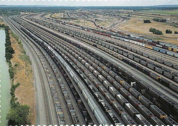 Bailey Rail Yard-North Platte Nebraska The biggest Union Pacific Mechanic Shop In North Platte, NE