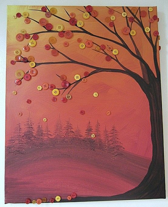 Copaci cu nasturi model 7