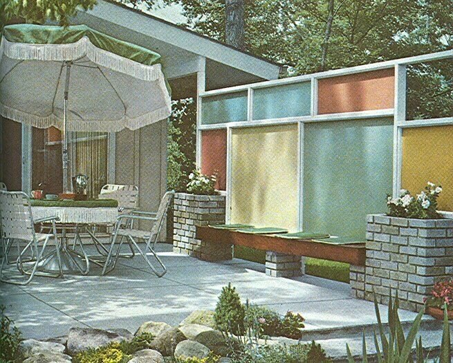 25 best ideas about mid century landscaping on pinterest midcentury fencing and gates modern backyard and modern fence - Mid Century Modern Landscape Design Ideas