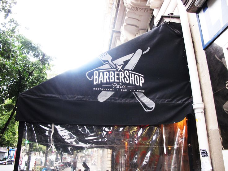 After a day of cycling through the city, a decent burger is all we need.  https://www.facebook.com/pages/barbershop/77378465813