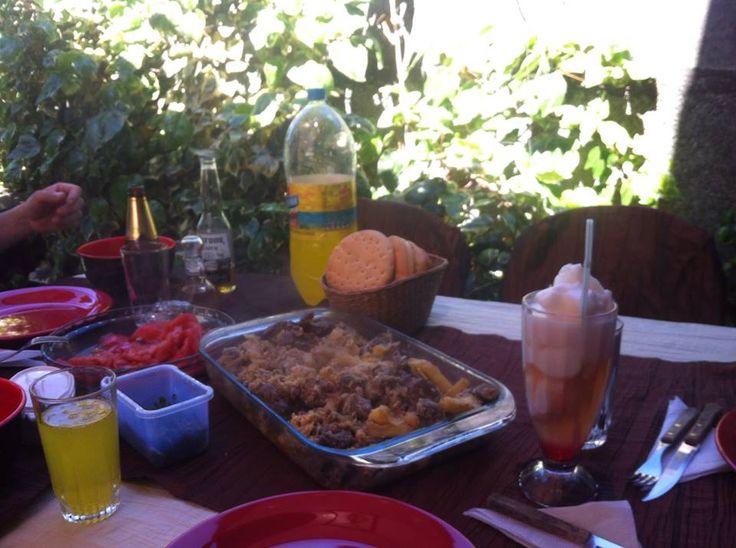 esos almuerzos familiares que parecen un festin ~