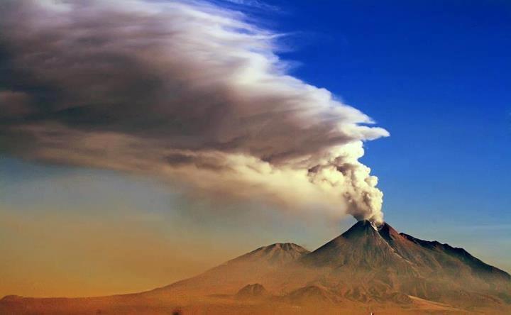 Merapi, The Eruption