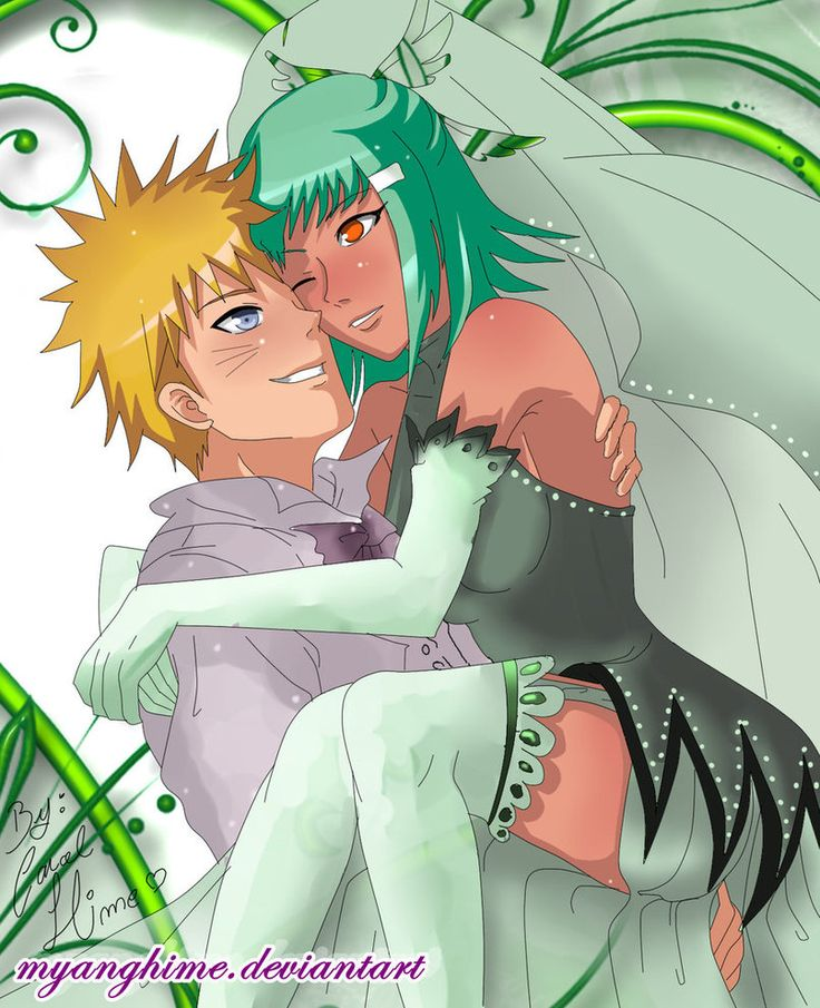 Naruto, Marriage and Fanart on Pinterest