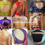 Trend Report: Cut Out Saree Blouses