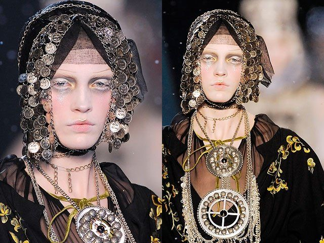 ...Amazing Accoutrements, Design Inspiration, John Galliano, Crosses Stained, Costumes Inspiration, Crinoline Inspiration, Galliano 2009, Fashioncostum Design, Inspiration Accessories