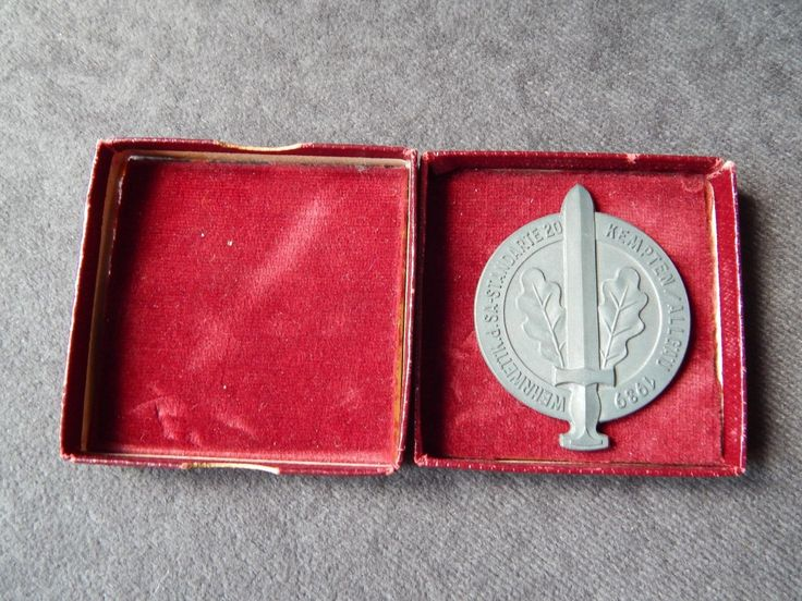 A 100% #original award/plaque pre 1945 .. #german ww2 .. sa. #(complete with box),  View more on the LINK: 	http://www.zeppy.io/product/gb/2/371797864379/