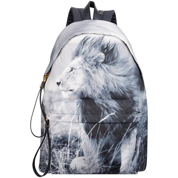 Anne Klein Classic Lion Backpack ($50) ❤ liked on Polyvore featuring bags, backpacks, handle bag, anne klein, strap backpack, strap bag and anne klein bags