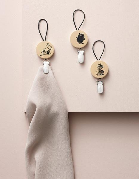 Aarikka Moomin towel clips: Moomin towel clips