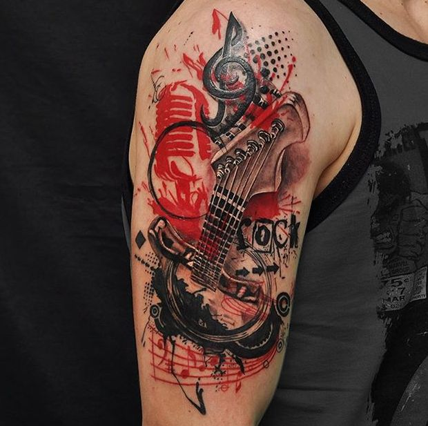 Tattoo Styles: An Introduction to Trash Polka