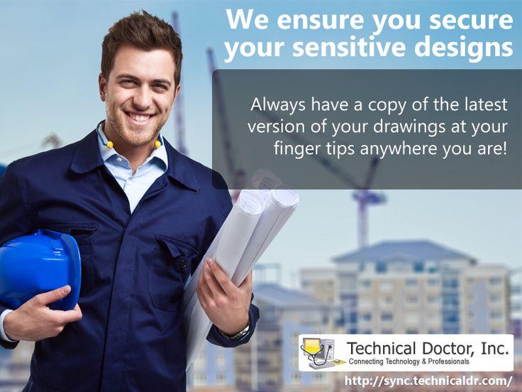 We ensure you secure your sensitive design ► http://sync.technicaldr.com
