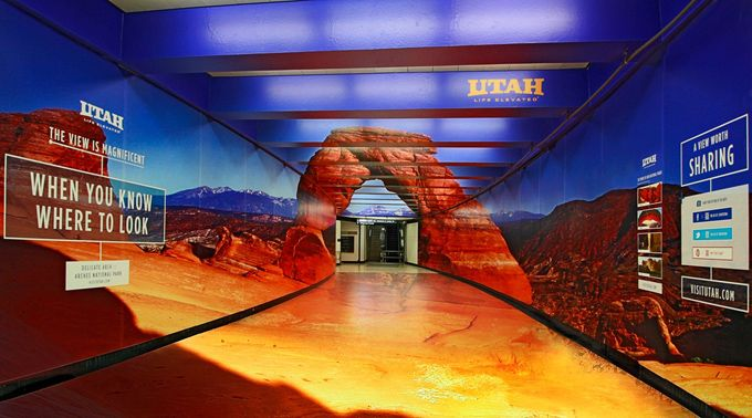 Utah Tourism Montgomery Tunnel Installation - The Cool Hunter