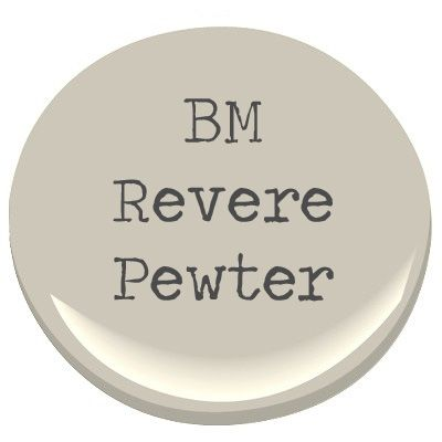 BM revere pewter