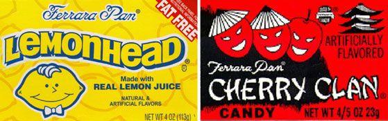 Ferrara Pan Lemonheads & Cherry Clans