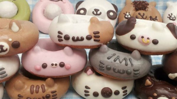 In Japan, Adorable Animal-Shaped Donuts Become A Sensation - DesignTAXI.com