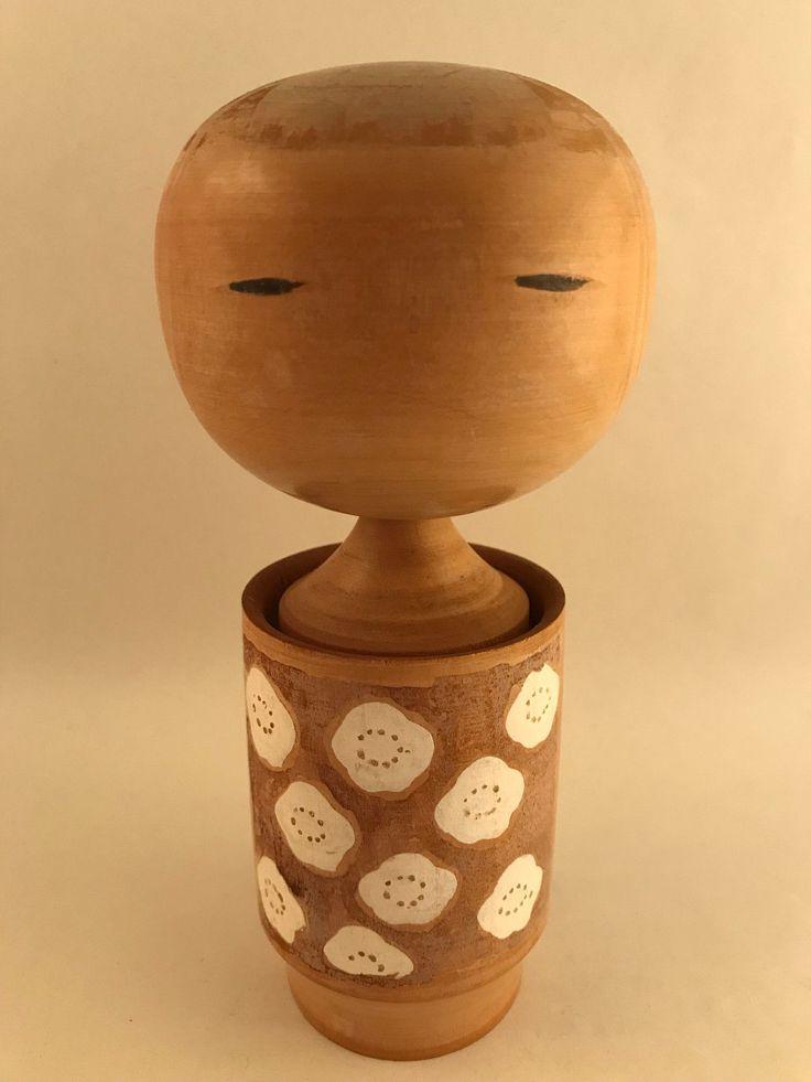 16cm Japanese Kokeshi - Made in Japan - handmade wooden doll | eBay