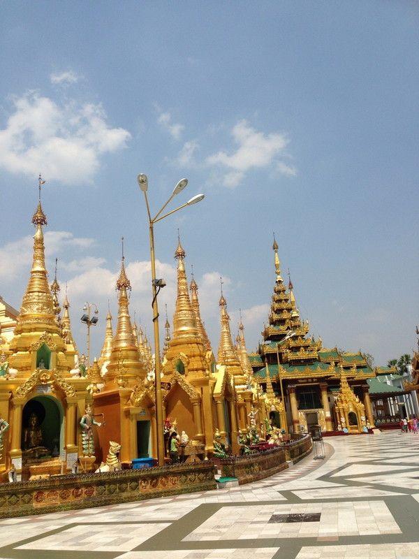 2013-04 ミャンマー ヤンゴン シュエダゴン・パゴダ | World merchandise