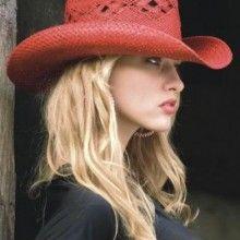 chapeu de palha country feminino