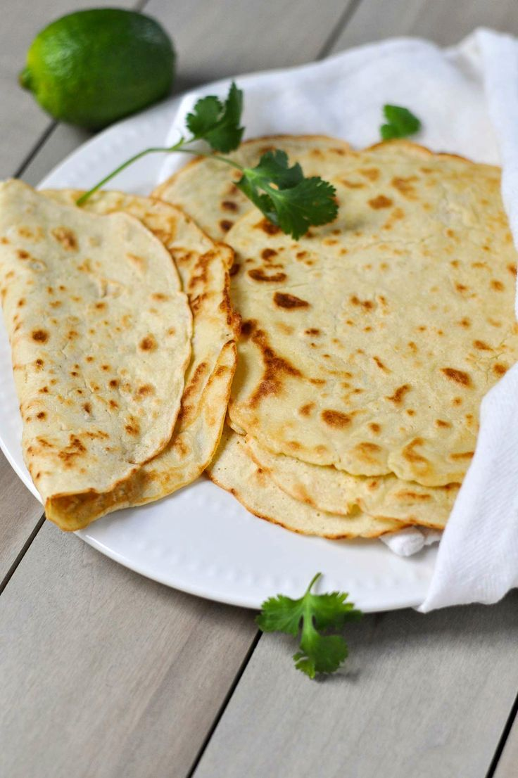 These Paleo Tortillas are delicious, versatile and super easy to make with just a few simple ingredients—use them for tacos, enchiladas, wraps or even sweet crepes!