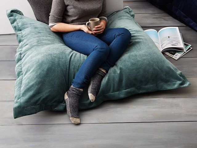 Best 25+ Oversized floor pillows ideas on Pinterest Oversized pillows, Giant floor cushions ...