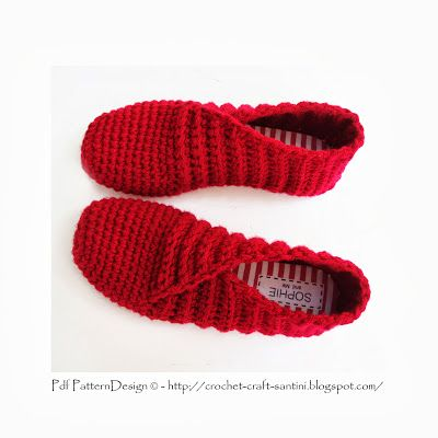 Crochet & Craft Slippers