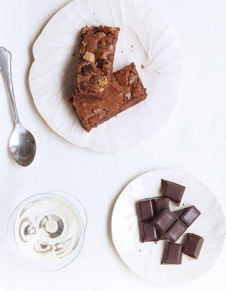 Brownie aux pépites de chocolat de Trish Deseine pour 6 personnes - Recettes Elle à Table - Elle à Table