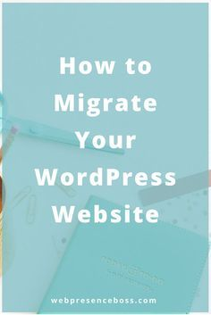 How to migrate your wordpress website. Step 1: Back Up Your Website's Files Using an FTP program (such as FileZilla), connect to your web host and copy all files under your website's directory to a folder on your local computer. Step 2: Export The WordPress Database Login to the cPanel account of your web server and open the phpMyAdmin application. Select the database that contains your WordPress installation from the list on the left hand sidebar and once selected click on the...