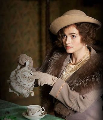 "The Queen (Helena Bonham Carter) pours #tea in ""The King's Speech"" (2010)."