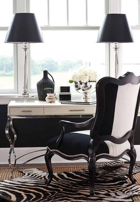 Home Office :: Black and White