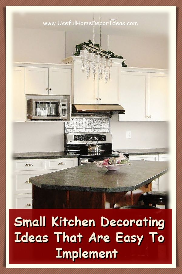 Beautiful Ways To Design A Small Kitchen Small Kitchen Decor Small Kitchen New Kitchen Designs