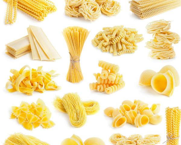 29 best images about PASTA SHAPES on Pinterest