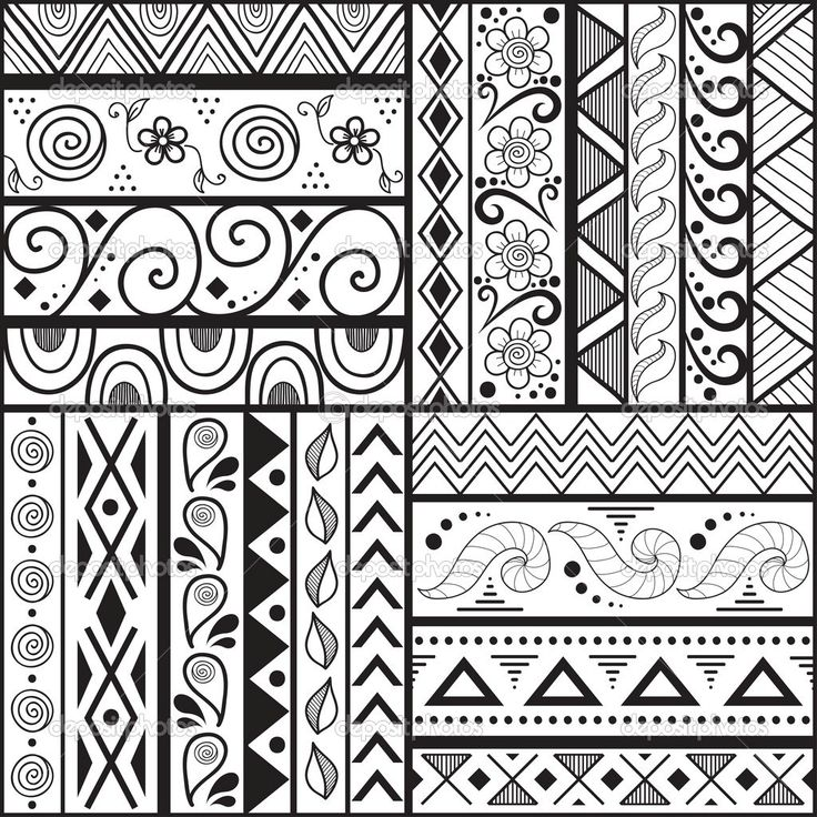 Best 25 patterns to draw ideas on pinterest zentangle for Drawing patterns for beginners